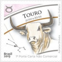 C - 3815 -SELO SIGNOS DO ZODÍACO, TOURO - 2019 - MINT