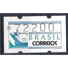 SE 5 072200 BRASILIANA 93 -MINT