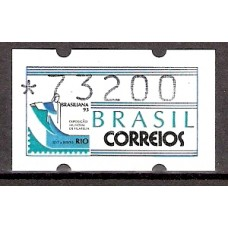 SE 5 073200 BRASILIANA 93 -MINT